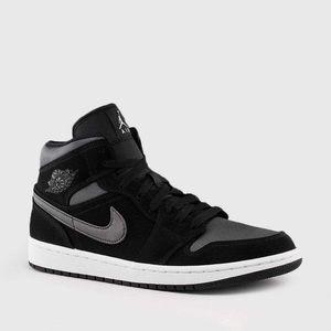 Jordan Shoes - Anthracite/ black Air Jordan 1's (Brand New)